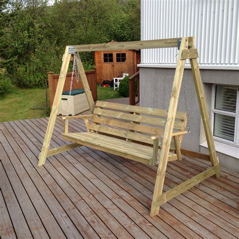 How To Build A Bench Swing Stand