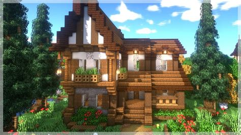 How To Build A Big Cottage In Minecraft