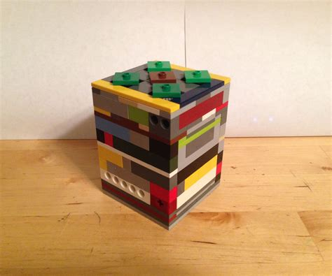 How To Build A Big Lego Puzzle Box