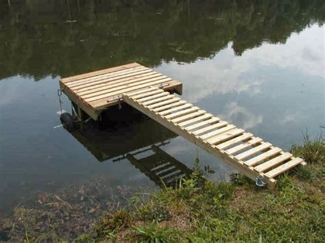 How To Build A Boat Dock On A River