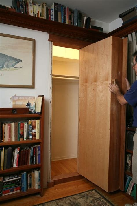 How To Build A Bookcase Door