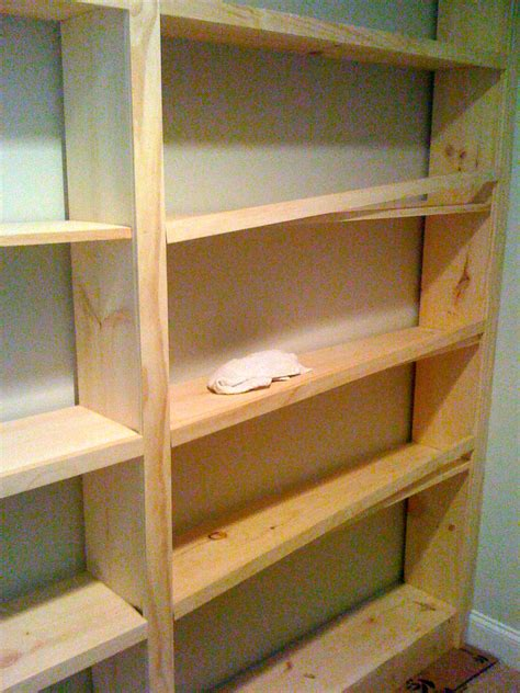 How To Build A Built In Bookcase
