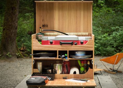 How To Build A Camp Kitchen Chuck Box