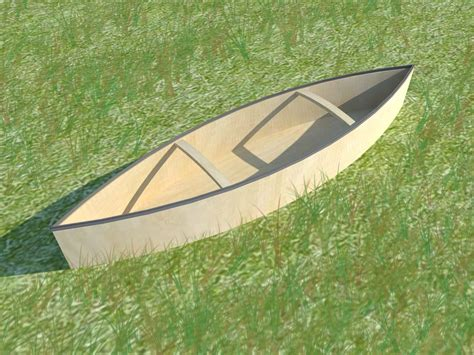 How To Build A Canoe Out Of Wood Plans
