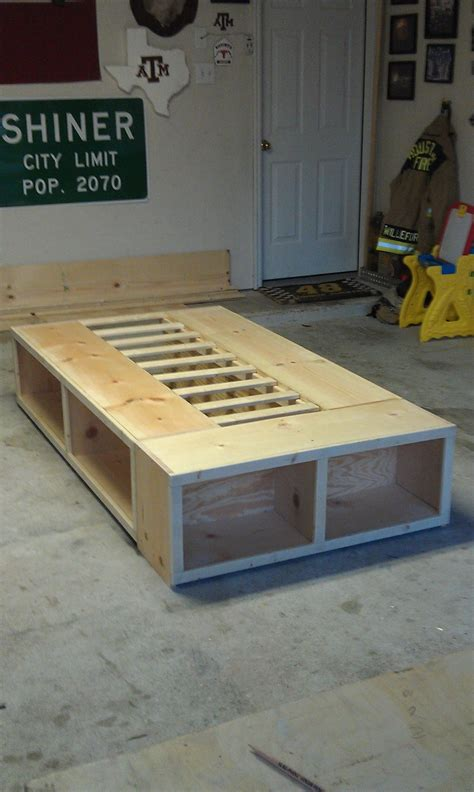 How To Build A Captains Bed Frame