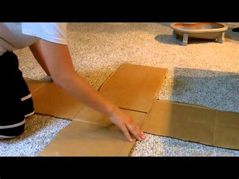 How To Build A Cardboard Tech Deck Ramp