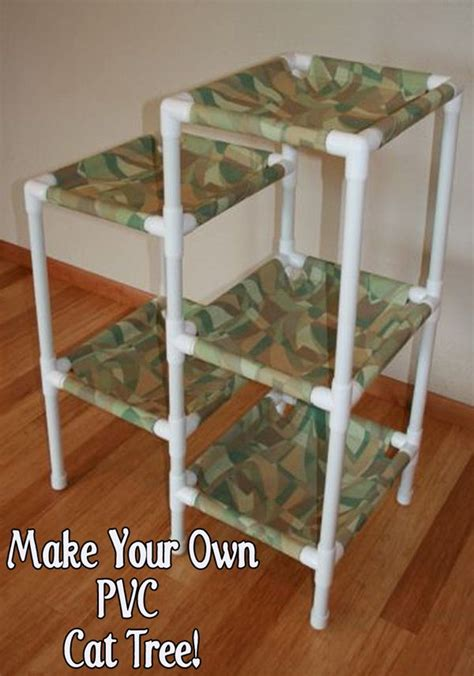 How To Build A Cat Tree Out Of Pvc Pipe