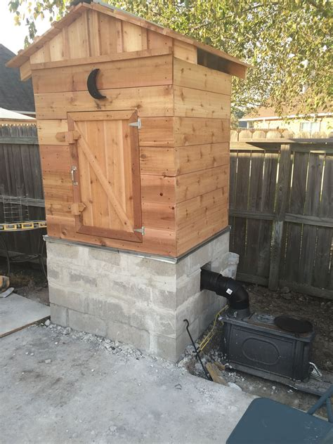How To Build A Cedar Smokehouse Plans