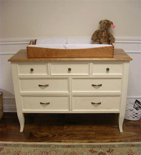 How To Build A Changing Table Out Of Dresser