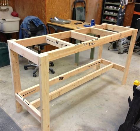How To Build A Cheap Workbench Designs