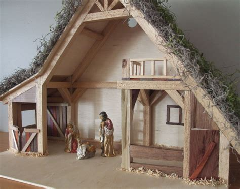 How To Build A Christmas Stable Plans