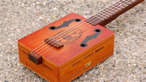 How To Build A Cigar Box Banjo Plans