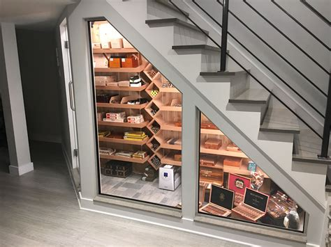 How To Build A Cigar Humidor Under Staircase