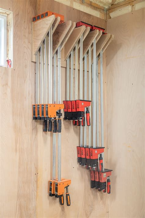 How To Build A Clamp Rack