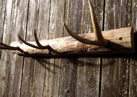 How To Build A Coat Rack Shelf With Antlers