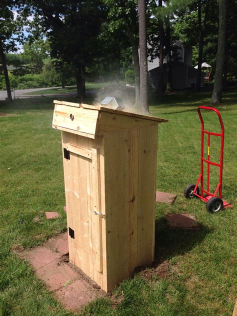 How To Build A Cold Smokehouse Plans Blueprints