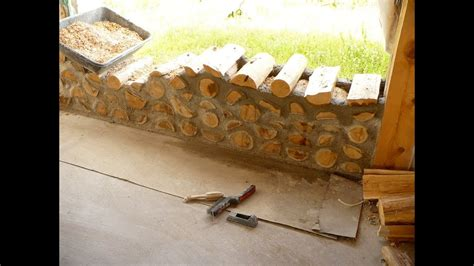 How To Build A Cordwood Building