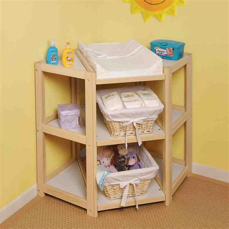 How To Build A Corner Changing Table