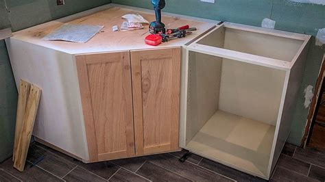 How To Build A Corner Kitchen Cabinet