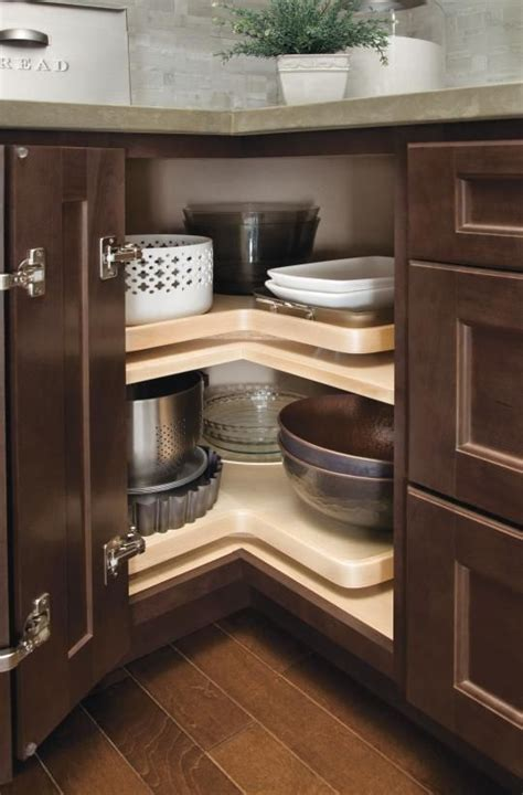 How To Build A Corner Kitchen Cabinet With Lazy Susan