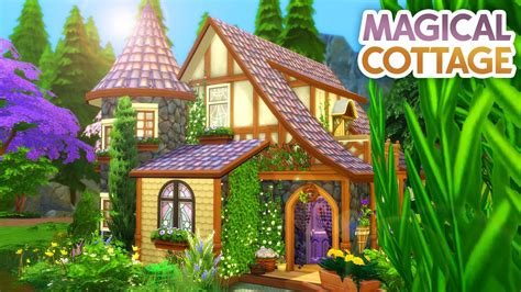 How To Build A Cottage Sims 4