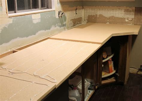 How To Build A Countertop Base For Laminate