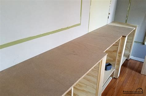 How To Build A Countertop Base Using 2x4s