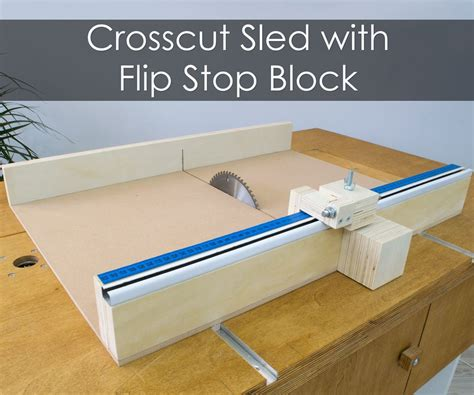 How To Build A Crosscut Sled Free Plans