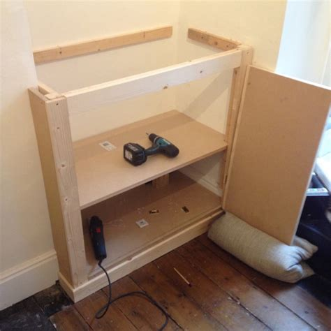 How To Build A Cupboard In A Alcove