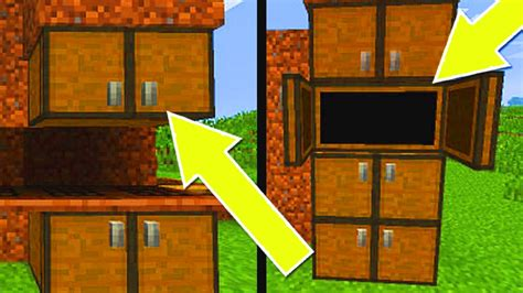 How To Build A Cupboard In Minecraft