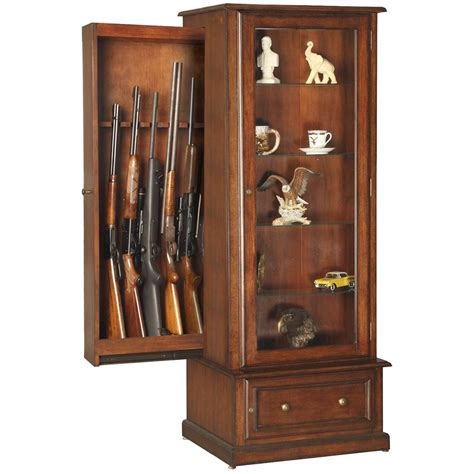 How To Build A Curio Cabinet With Hidden Gun Storage