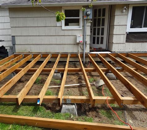How To Build A Deck Attached To A House