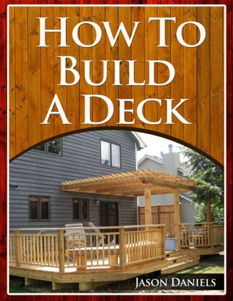 How To Build A Deck Books