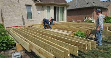 How To Build A Deck Frame On The Ground