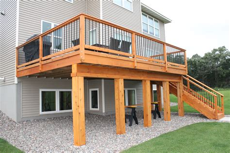How To Build A Deck Frame Plans