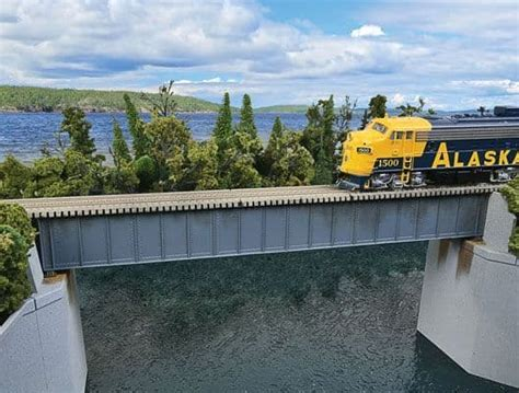 How To Build A Deck Girder Railroad Bridge On Youtube
