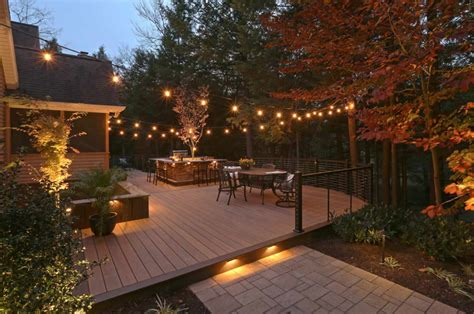 How To Build A Deck Overhead Lighting
