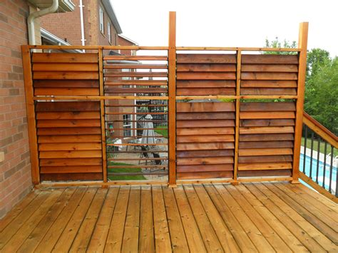 How To Build A Deck Privacy Fence