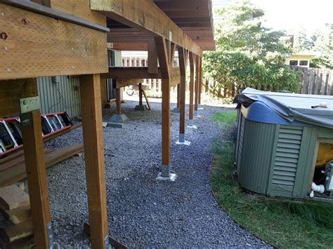 How To Build A Deck Without Digging Post Holes With Vacuum