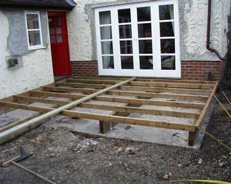 How To Build A Decking Subframe