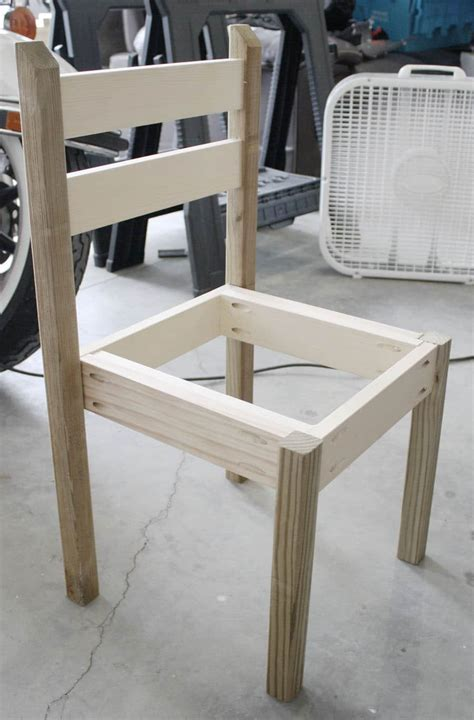 How To Build A Desk Chair For A Child