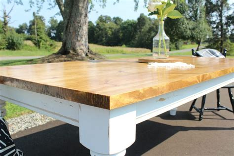 How To Build A Dining Table Top