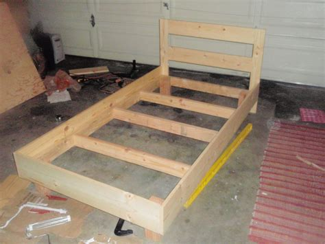 How To Build A Double Bed Frame