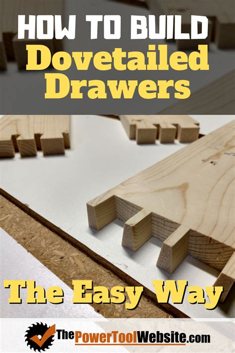 How To Build A Drawer With Dovetail Joints