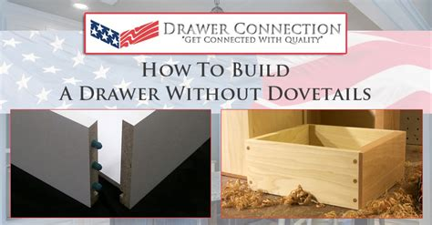 How To Build A Drawer Without Dovetail
