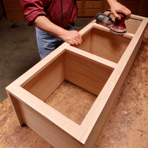 How To Build A Face Frame Cabinet For Drawers