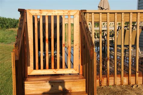 How To Build A Fence On A Deck Plans