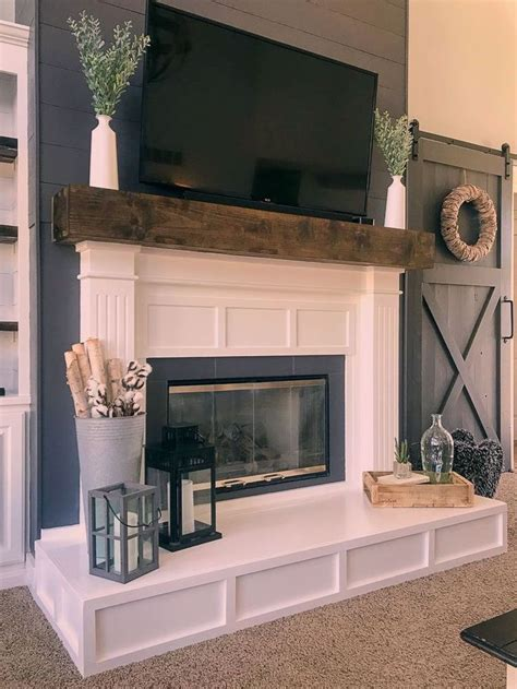 How To Build A Fireplace Frame