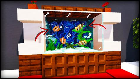 How To Build A Fish Tank In Minecraft  Youtube