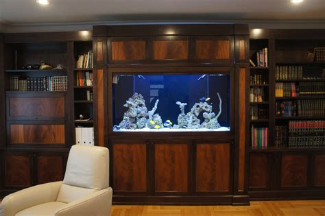 How To Build A Fish Tank Wall Unit